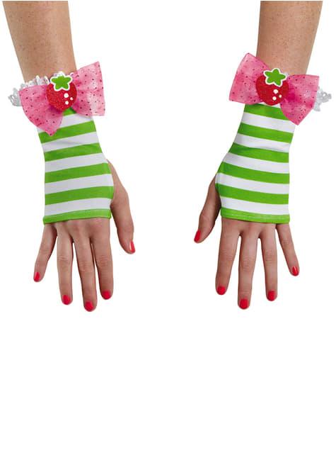 Дорослі рукавички полуниці