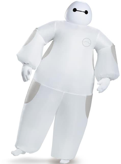Disfraz de Baymax Big Hero 6 hinchable para adulto