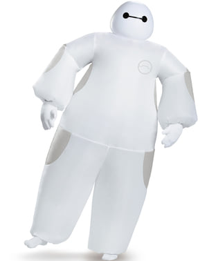 Disfraz de Baymax Big Hero 6 hinchable para adulto