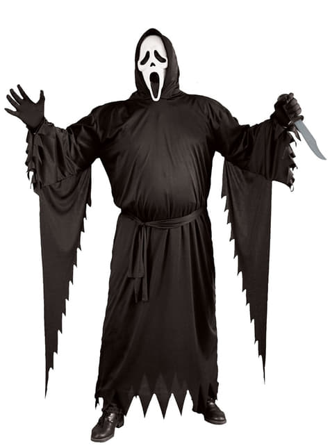 Déguisement Ghost Face homme grande taille