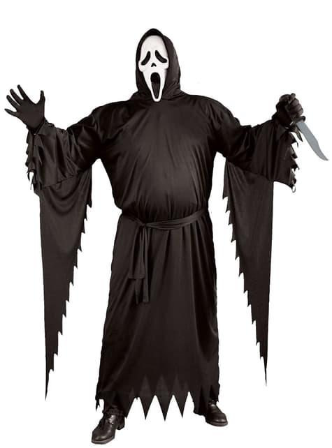 Disfraz Ghost face para hombre talla grande