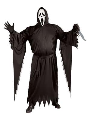 Costume Ghost face per uomo taglie forti
