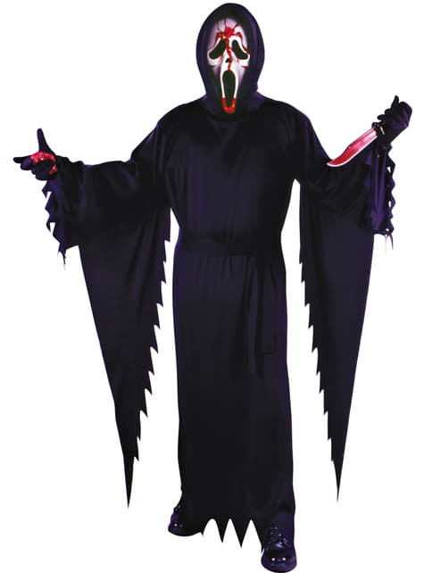 Disfraz de Ghostface sangriento para hombre - Scream