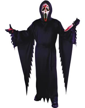 Blodig Spøkelsesansikt kostyme til menn - Skrik
