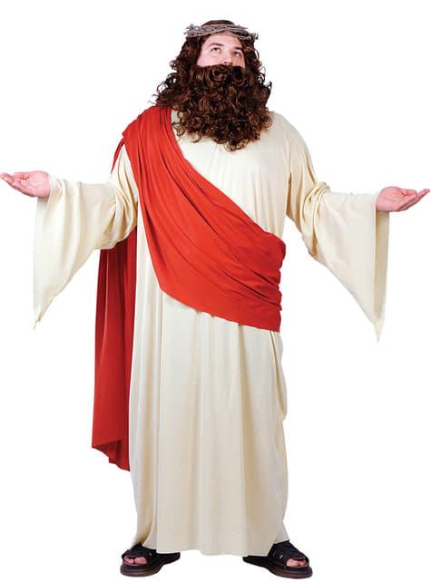 Disfraz de el mesías para hombre talla grande