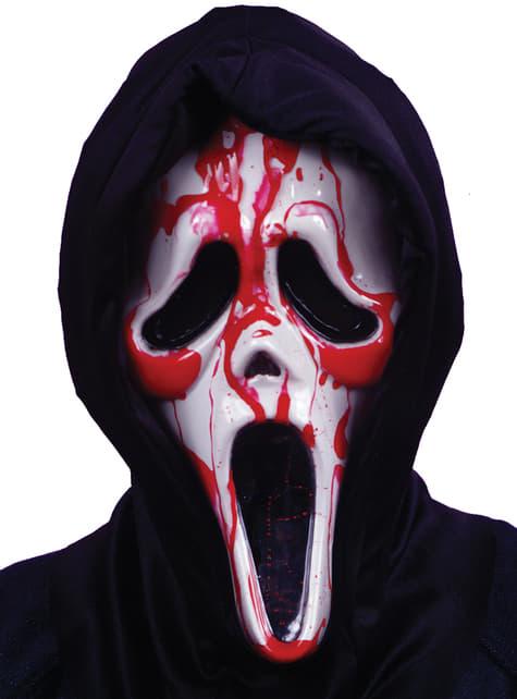 Máscara de Scream sangriento para hombre