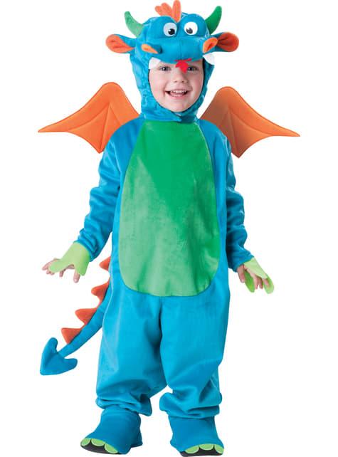 Disfraz de dinosaurio arcoiris para niño