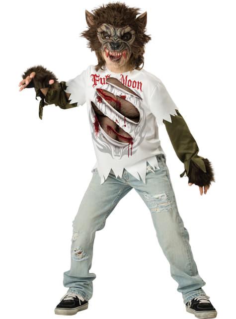 Boys Ragged Werewolf Kit