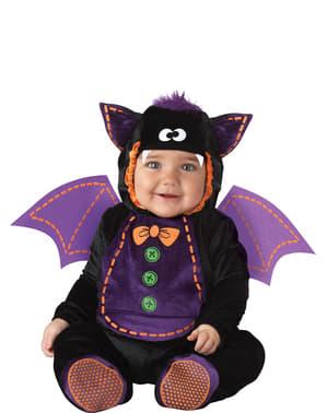 Fato de morcego Halloween para bebé