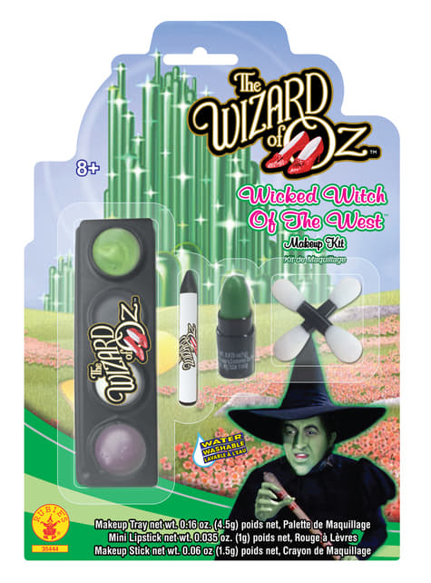 Girls The Wicked Witch of the West make-up kit