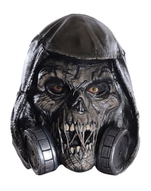 Máscara de Scarecrow de Batman deluxe para homem