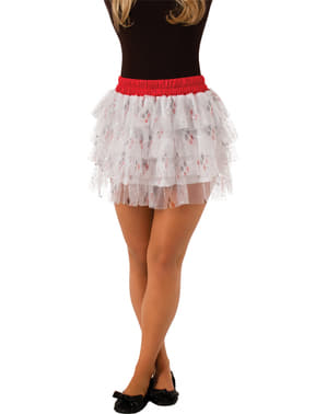 Teen girls Harley Quinn skirt with sequins