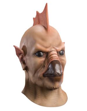 Máscara de Tomar Re Linterna Verde deluxe para adulto