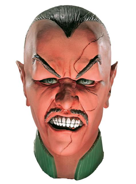 Máscara de Siniestro Linterna Verde deluxe para adulto