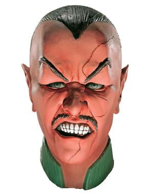 Máscara de Sinestro deluxe Lanterna Verde para adulto