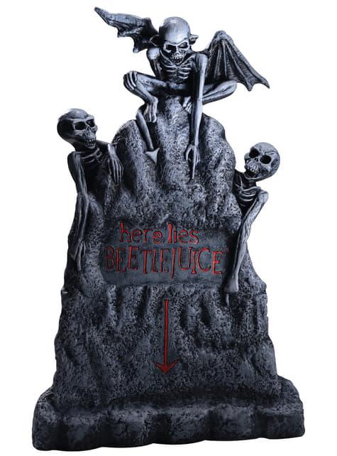 Figurine décorative tombe Beetlejuice