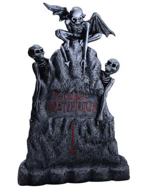 Figura decorativa tumba de Beetlejuice