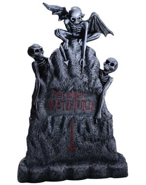 Figurine décorative tombe Beetlejuice