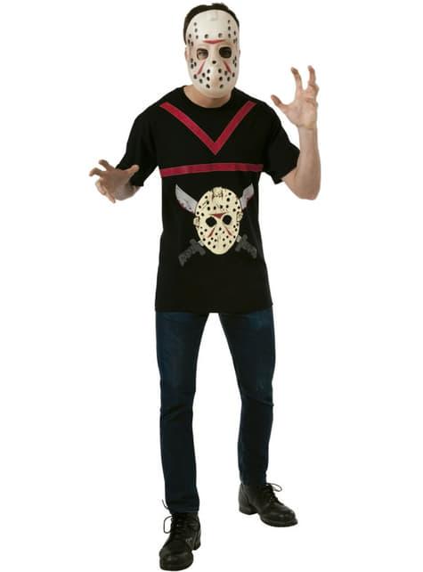 Kit disfraz de Jason Viernes 13 para adulto