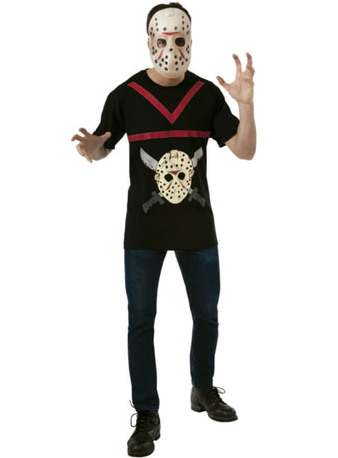 Mens Jason Friday the 13th costume kit