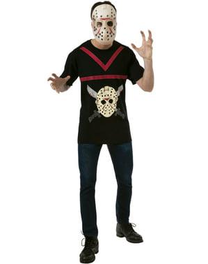 Jason Friday the 13th Kostuum kit voor mannen