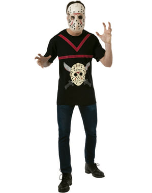 Zestaw kostium Jason Piątek 13-tego męski