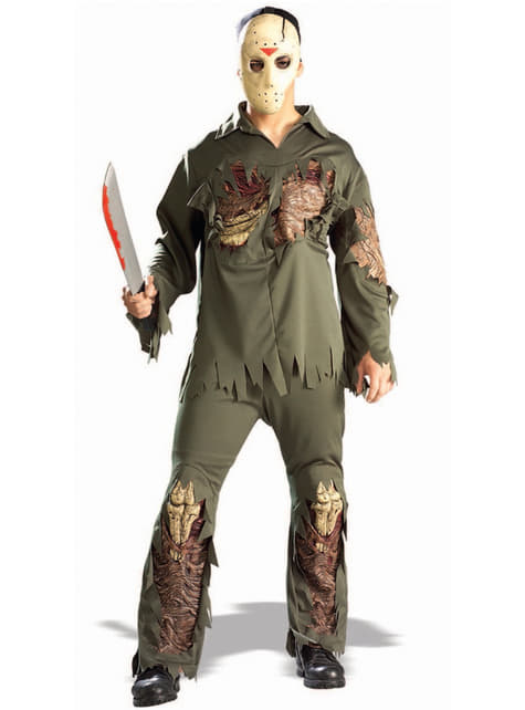 Jason Friday the 13th super deluxe costume