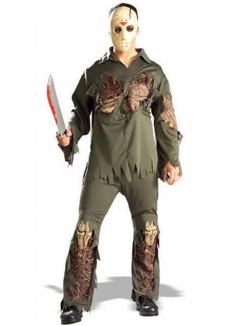 Jason Super deluxe Friday the 13th Kostuum
