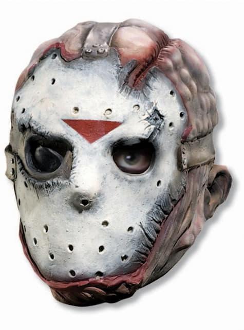 Adults terrifying Jason Friday the 13th mask