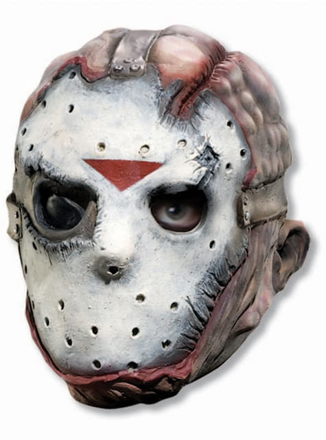 Máscara de Jason aterrador Viernes 13 para adulto