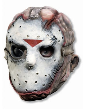 Adults terrifying Jason Friday the 13th mask