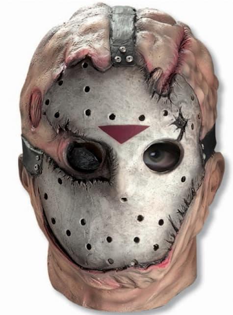 Terrifying Jason Friday the 13th mask