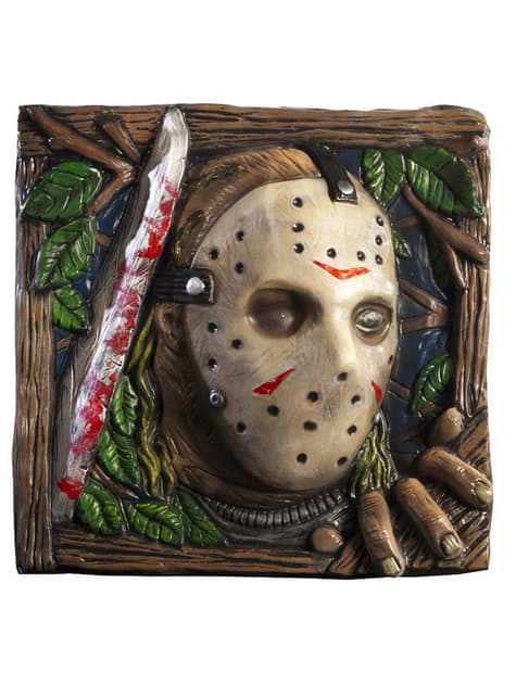Jason Voorhees Friday the 13th wall decoration