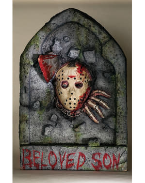 Fredag den 13. Jason dekorativ gravsten
