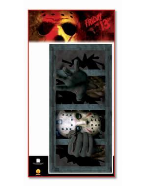 Ventana aterradora de Jason Viernes 13