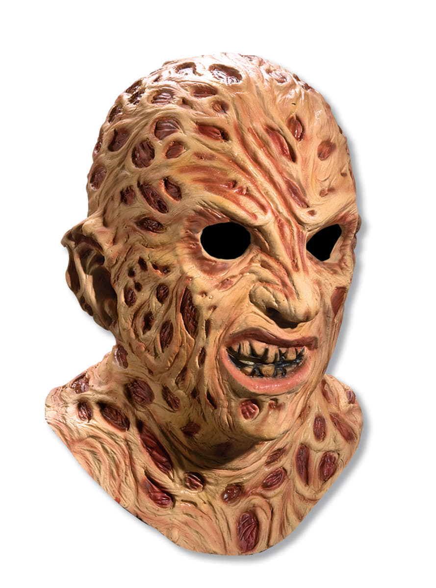 Adults Freddy Krueger Deluxe Mask The Coolest Funidelia