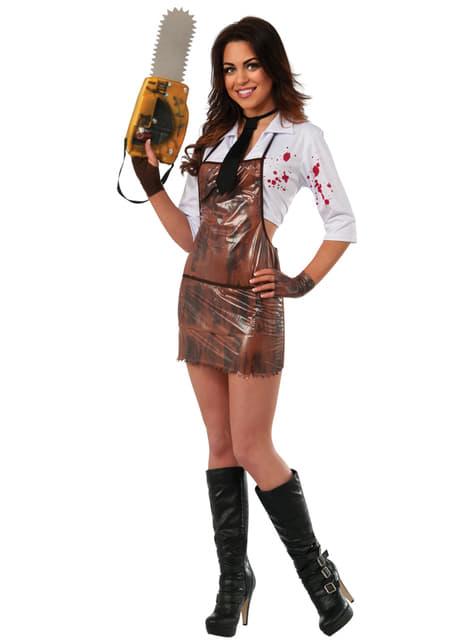Womens sexy Leatherface costume