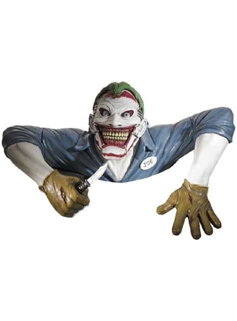 Joker wall decorative figure