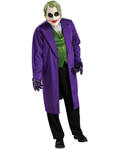 mens plus size joker batman costume