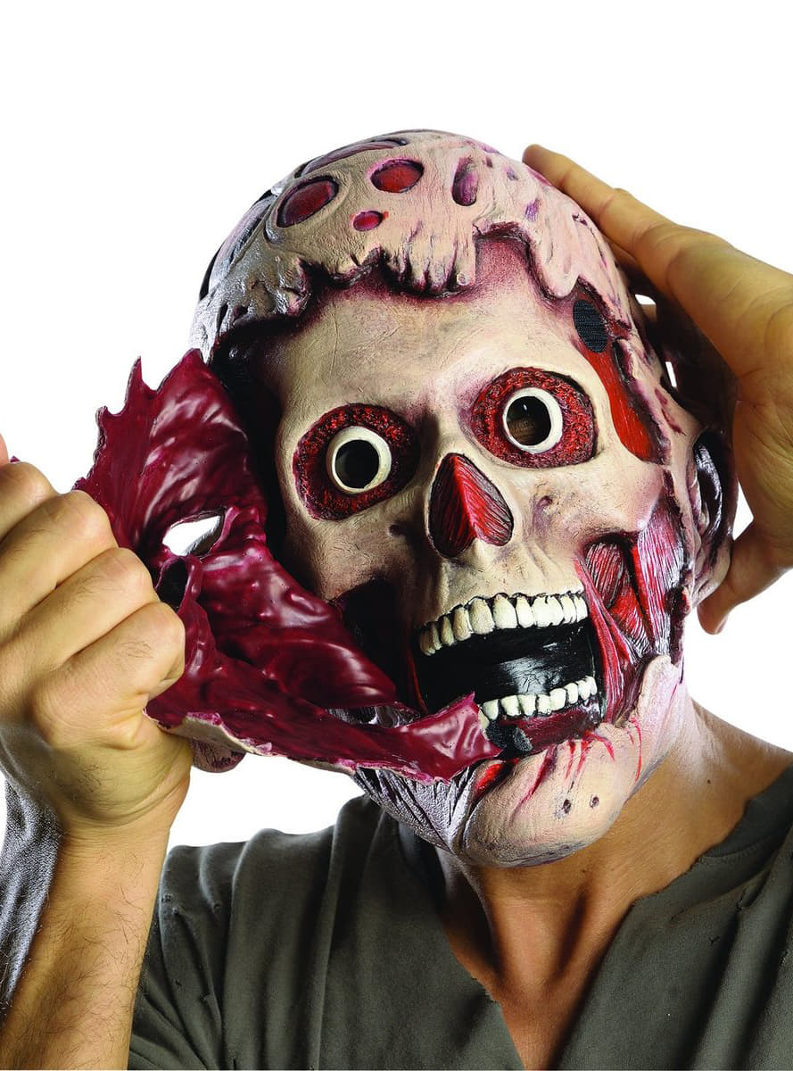 Adults doubly terrifying Freddy Krueger mask. The coolest ...