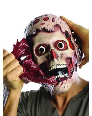 Morderisk Mareridt Freddy Krueger skræmmende dobbeltmaske til voksne