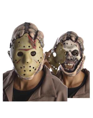 Fredag den 13. Jason deluxe maske til voksne