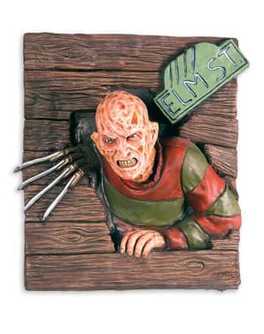 Decoración para pared de Freddy Krueger