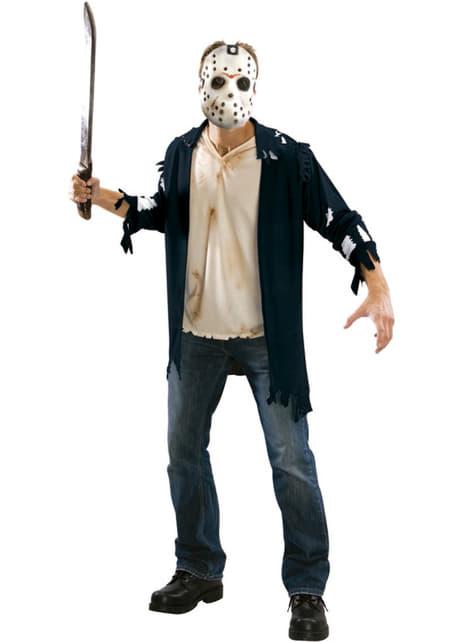 Kit disfraz de Jason Viernes 13 para hombre