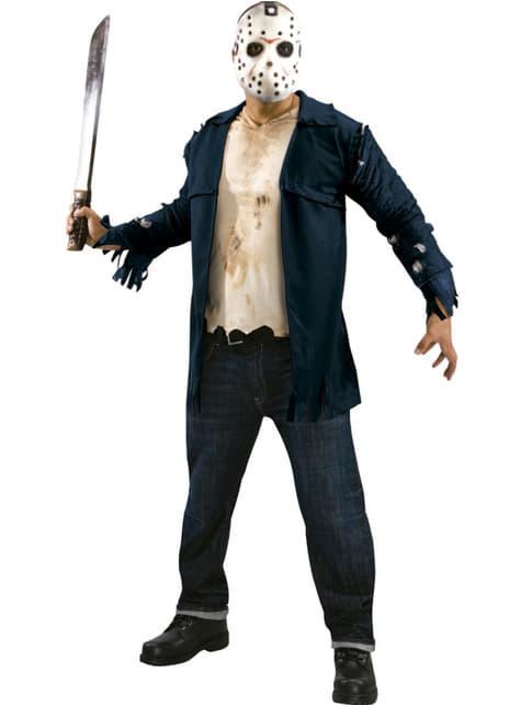 Disfraz de Jason deluxe Viernes 13 para hombre