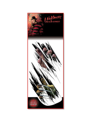 Freddy Krueger wall transfer