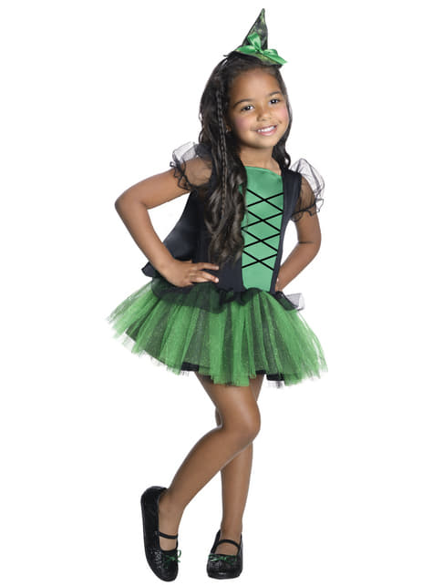 Disfraz de la Bruja malvada del oeste Wizard Oz para niña