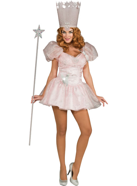 Sexy Glinda Trollmannen fra Oz Damekostyme