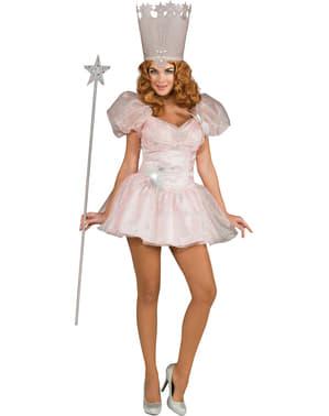 Fato de Glinda do Feiticeiro de Oz sexy para mulher