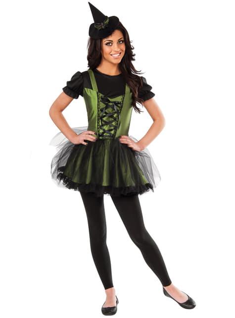Fato de Bruxa Malvada do Oeste do Feiticeiro de Oz para mulher
